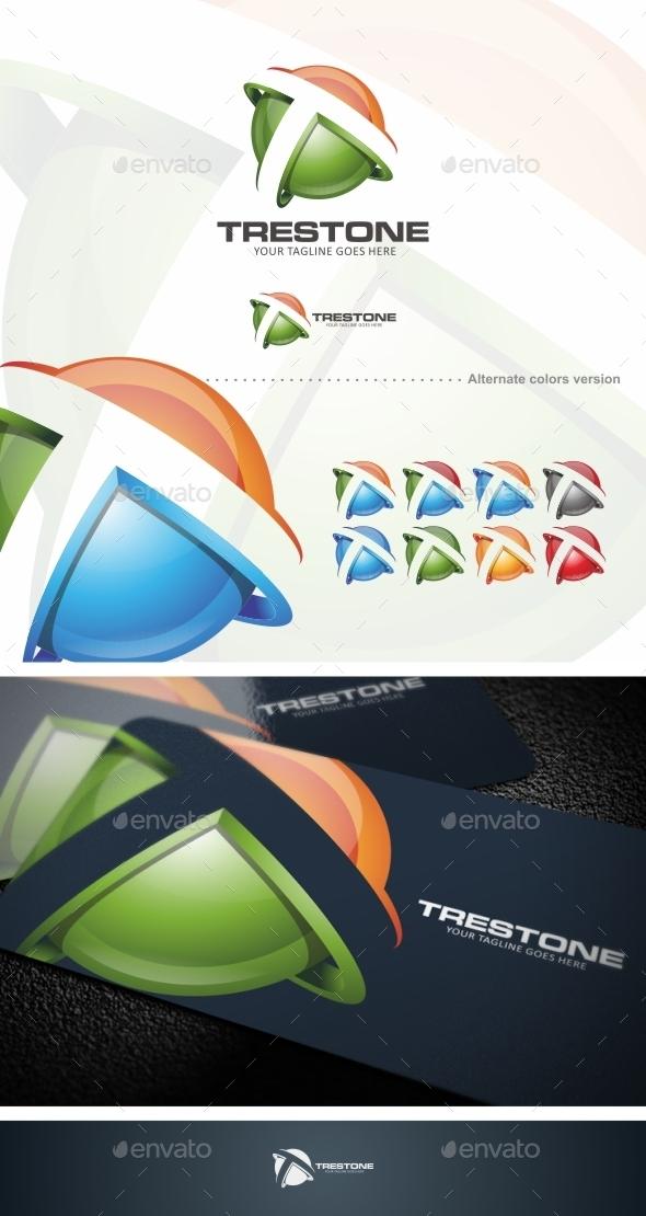 Trestone / T Letter - Logo Template - Letters Logo Templates