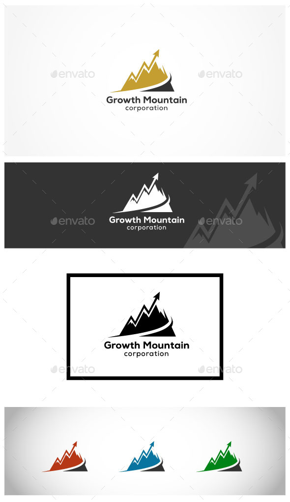 Financial Development - Abstract Logo Templates