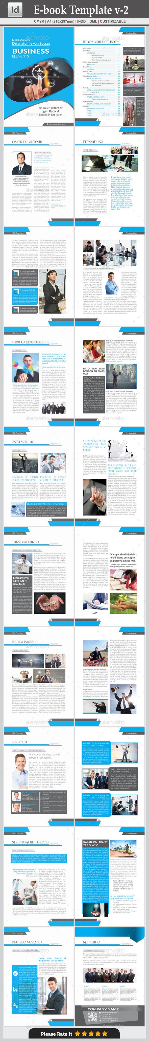 E-book Template v-2 - Digital Books ePublishing