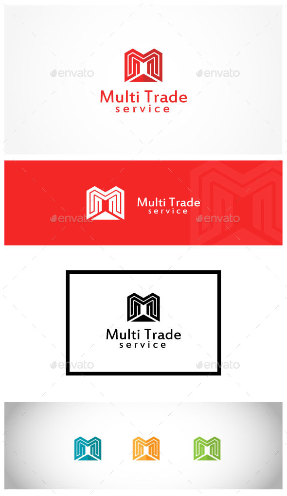 Marketing Growth - Letters Logo Templates