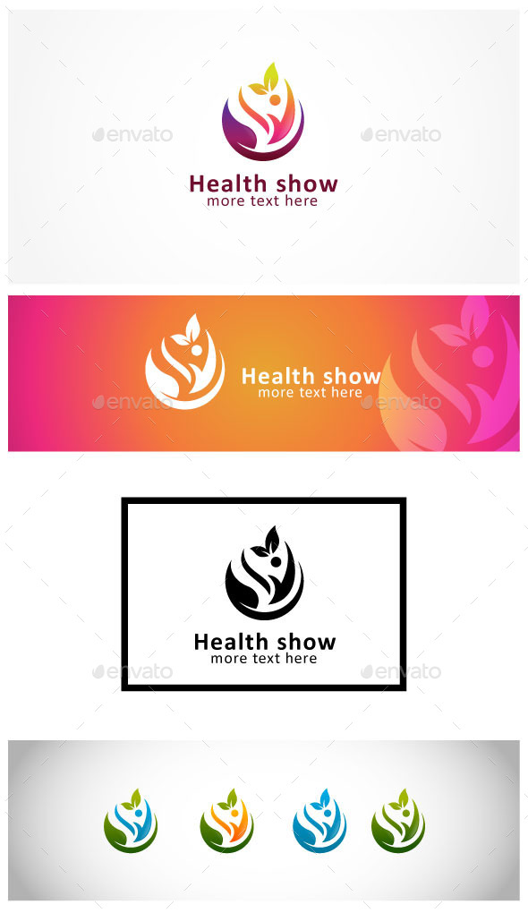 Healthy and Wellness - Humans Logo Templates