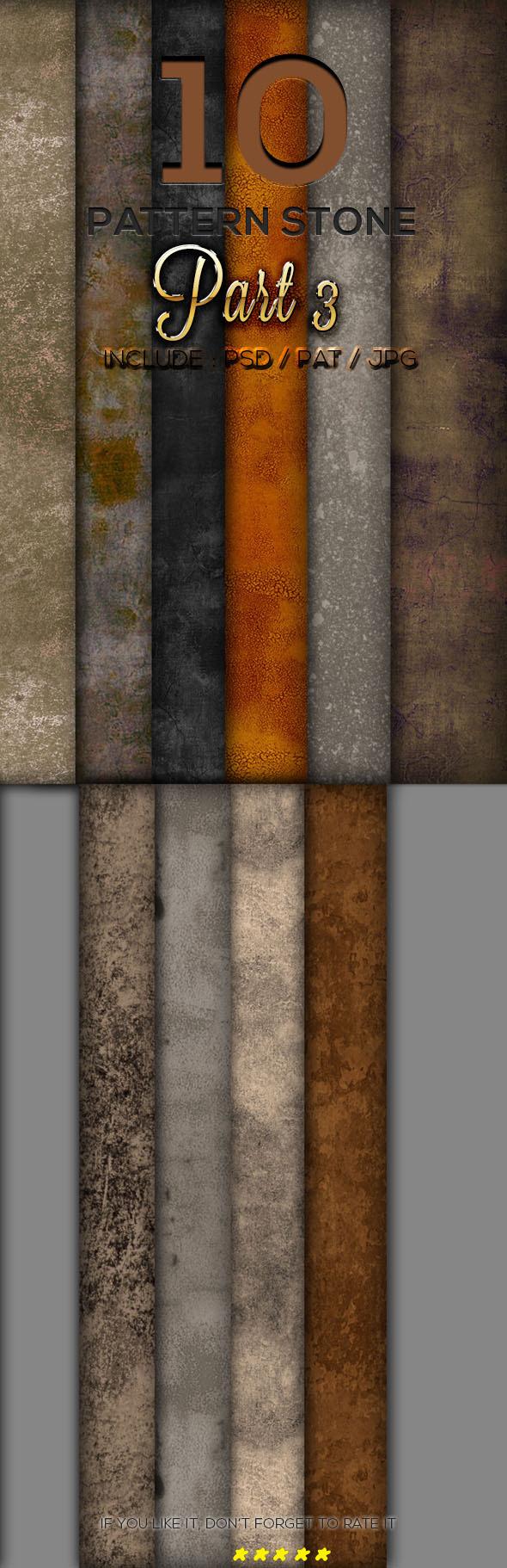 10 Stone Texture Pattern Part 3 - Textures / Fills / Patterns Photoshop