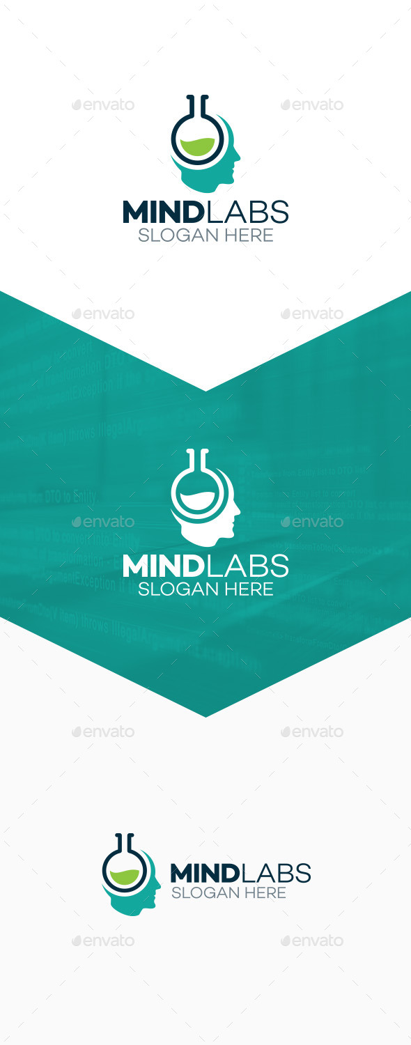 Mind Labs Logo - Humans Logo Templates