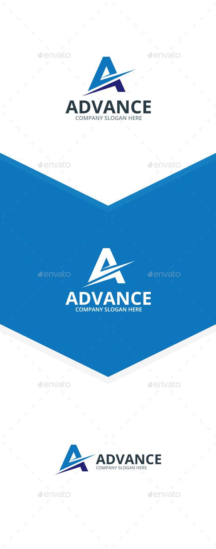 Advance - A Letter Logo - Letters Logo Templates