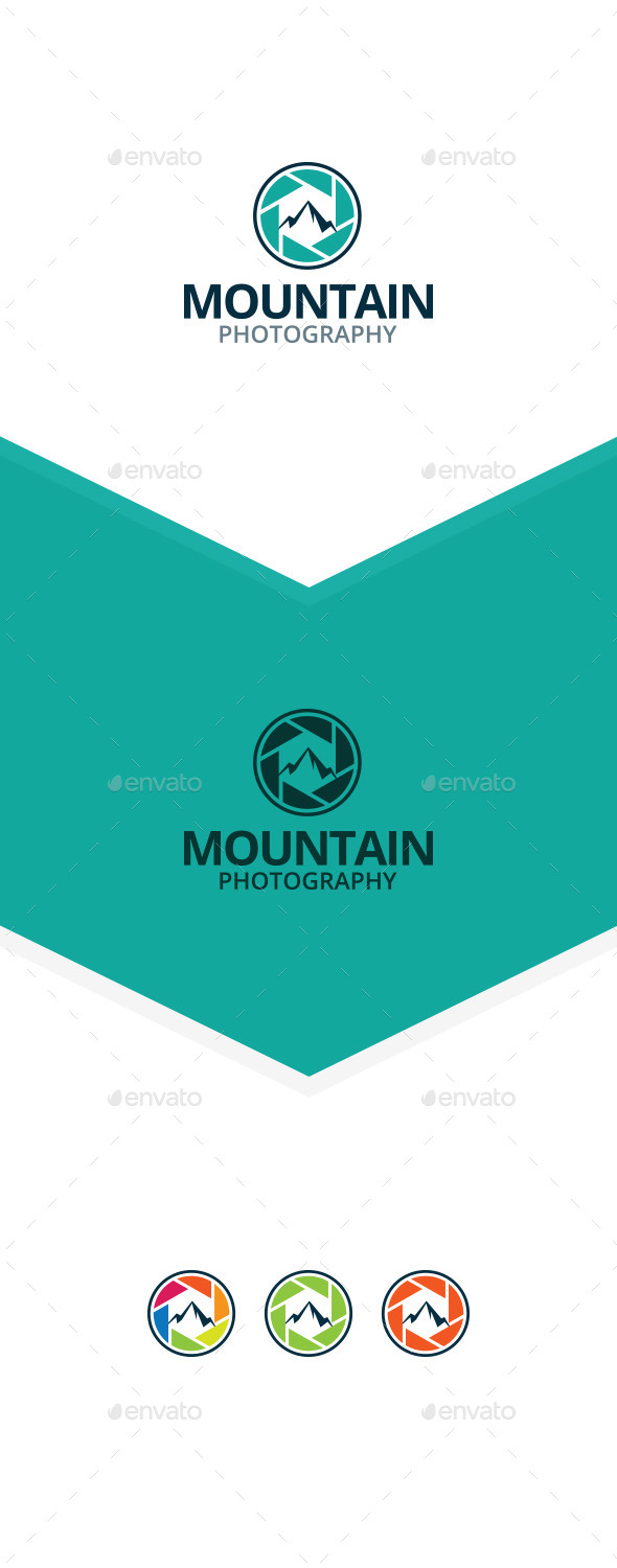 Mountain Photography - Nature Logo Templates