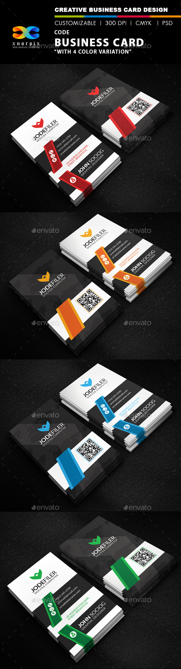 Code Business Card - Corporate Business Cards