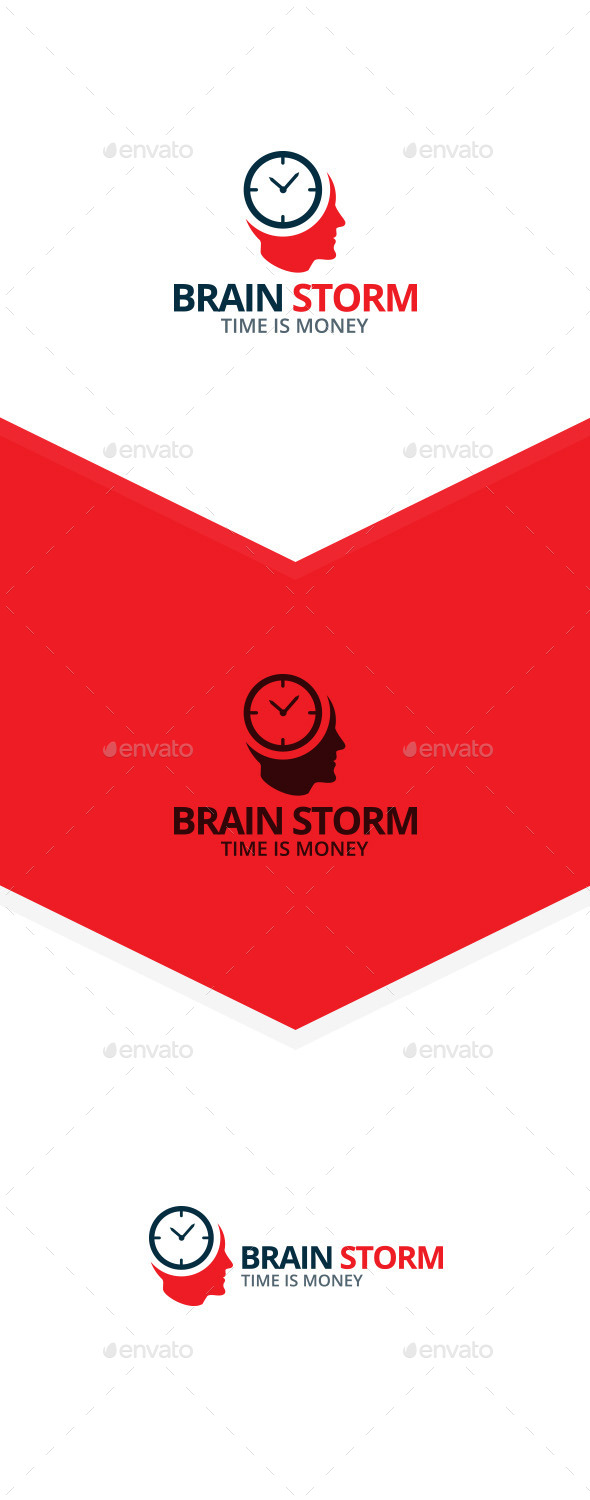 Brain Storm Logo - Humans Logo Templates