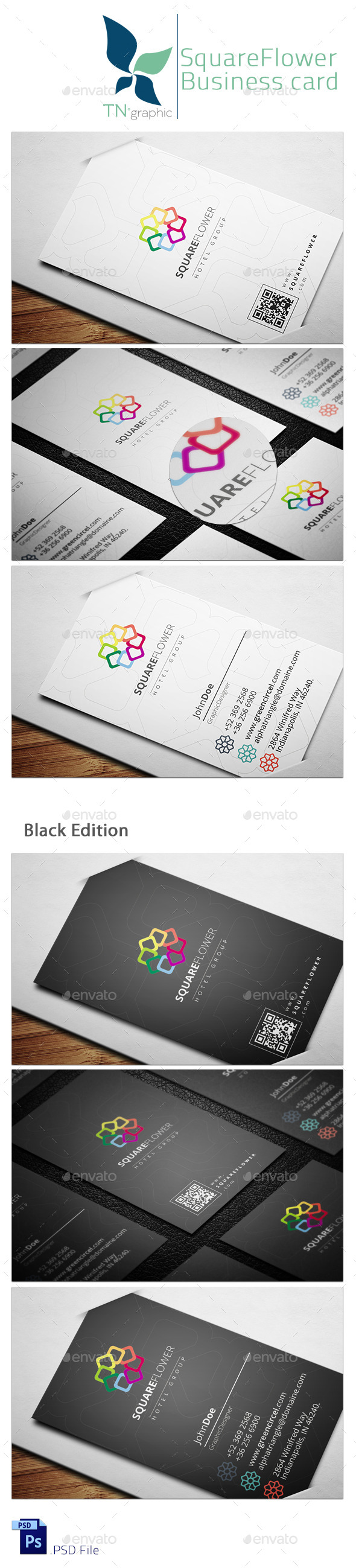 Creative business card templates designs from graphicriver page 59 reheart Image collections