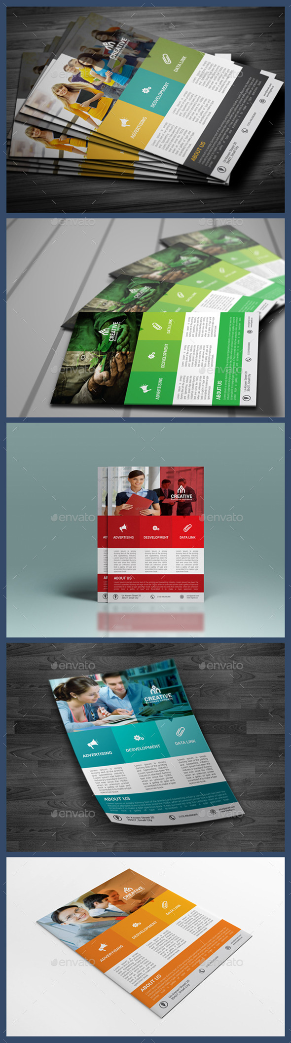 Creative Corporate Flyer Template - Corporate Flyers