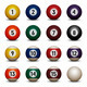 Colored Pool Balls - GraphicRiver Item for Sale