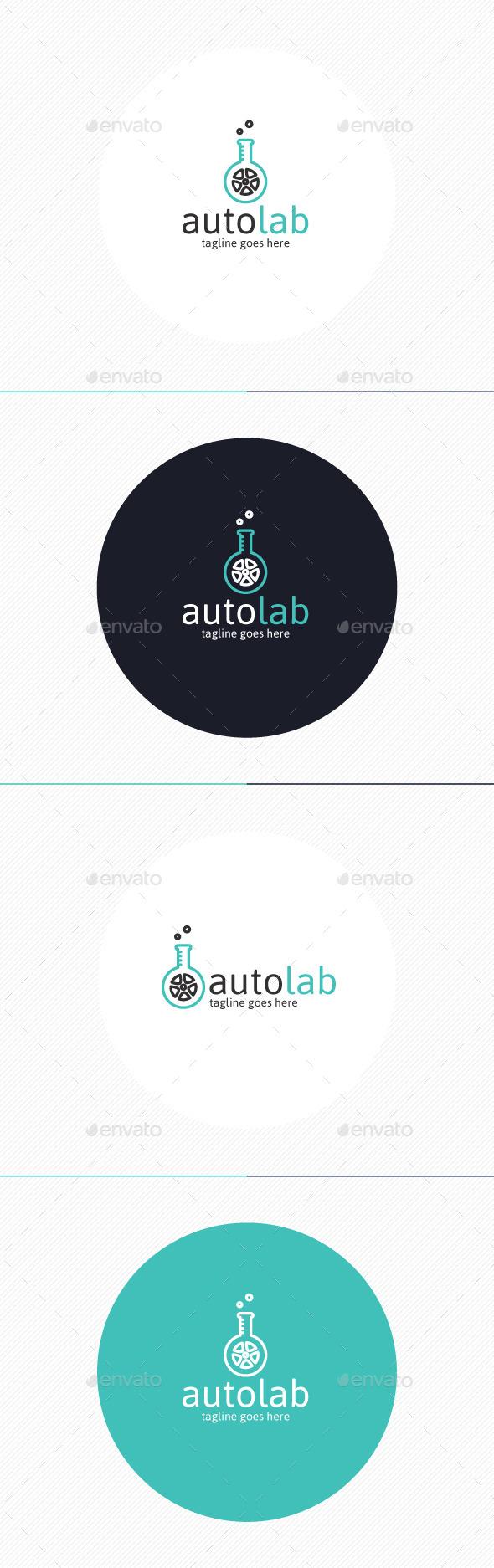 Auto Lab Logo - Objects Logo Templates