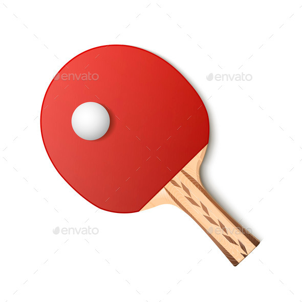 Ping-Pong Racket  - Sports/Activity Conceptual