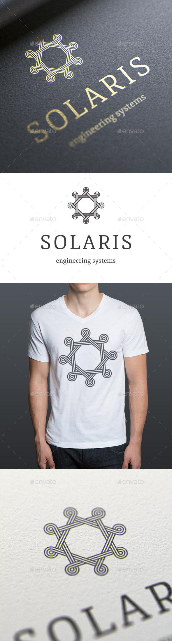Solaris Logo Template - Symbols Logo Templates