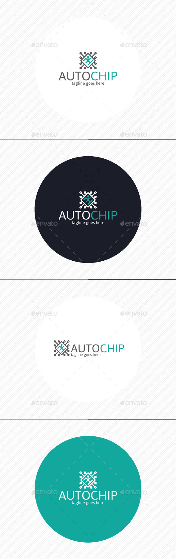 Auto Chip Logo - Objects Logo Templates