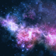 Particles In Galaxy-Background - VideoHive Item for Sale