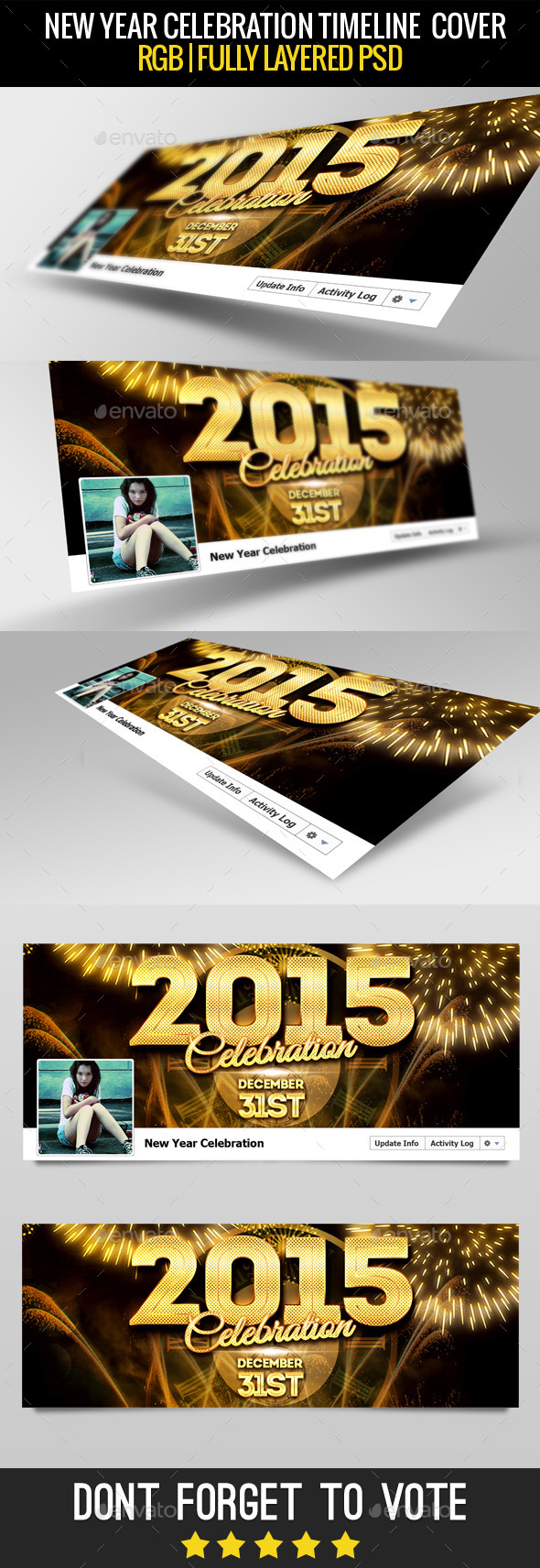 New Year Facebook Cover 2015 - Facebook Timeline Covers Social Media