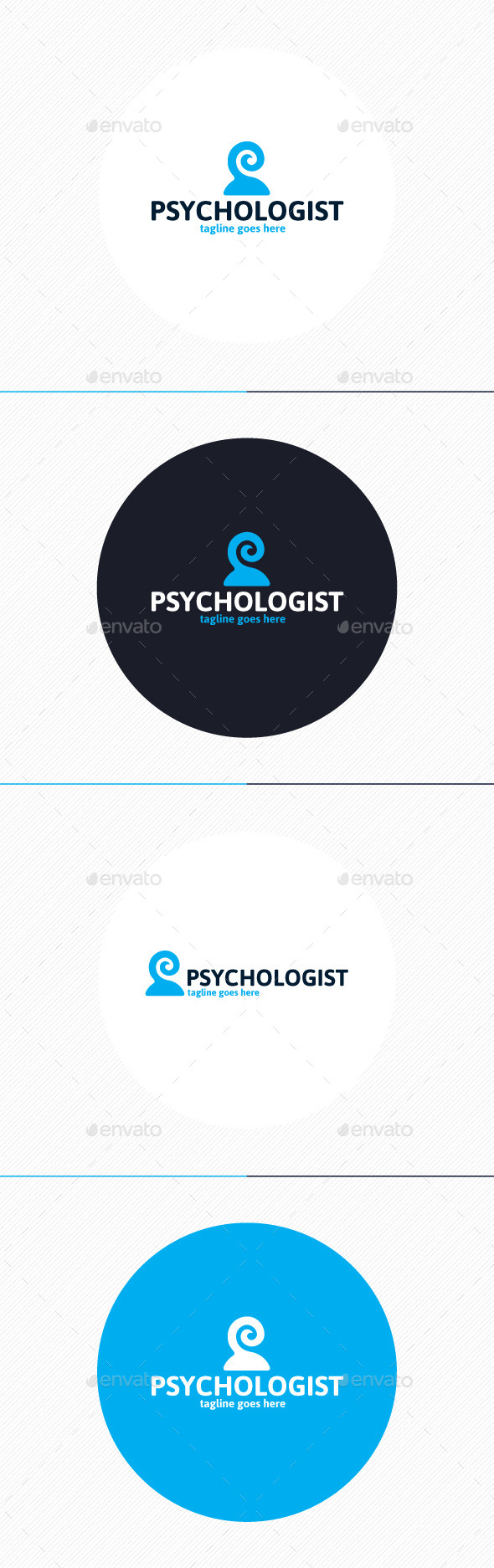 Psychologist Logo - Humans Logo Templates