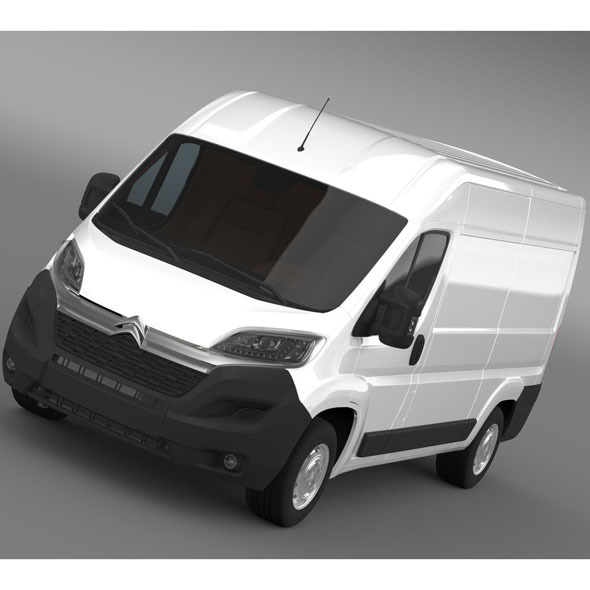 Citroen Jumper Van L2H2 2015 - 3DOcean Item for Sale