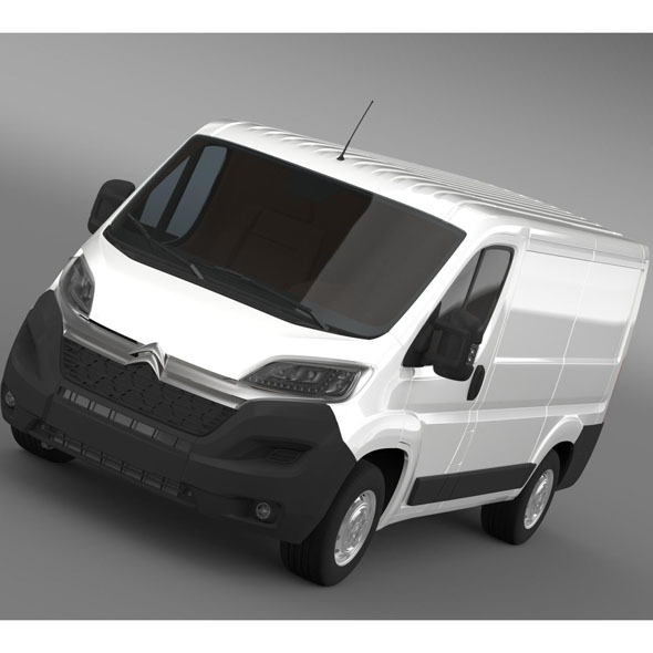 Citroen Relay Van L1H1 2015 - 3DOcean Item for Sale