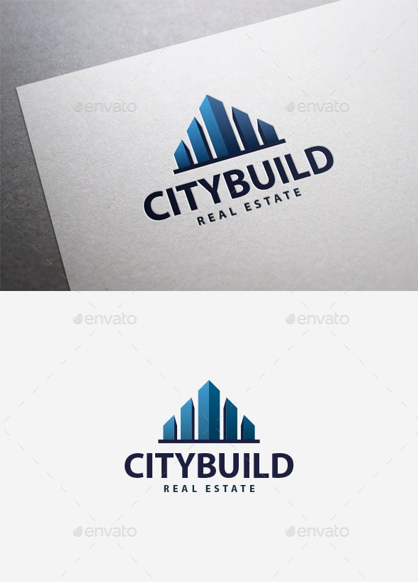 City Build Logo - Buildings Logo Templates