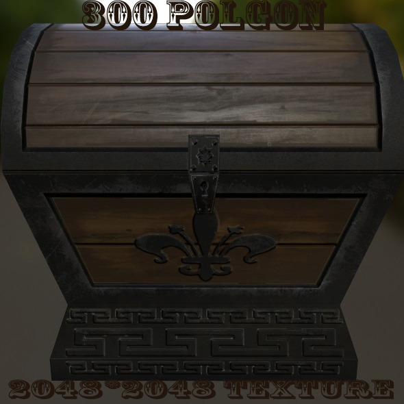 Chest - 3DOcean Item for Sale