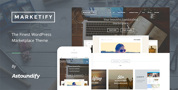 Marketplace WordPress Theme – Marketify
