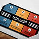 Social Media Business Card 1 - GraphicRiver Item for Sale