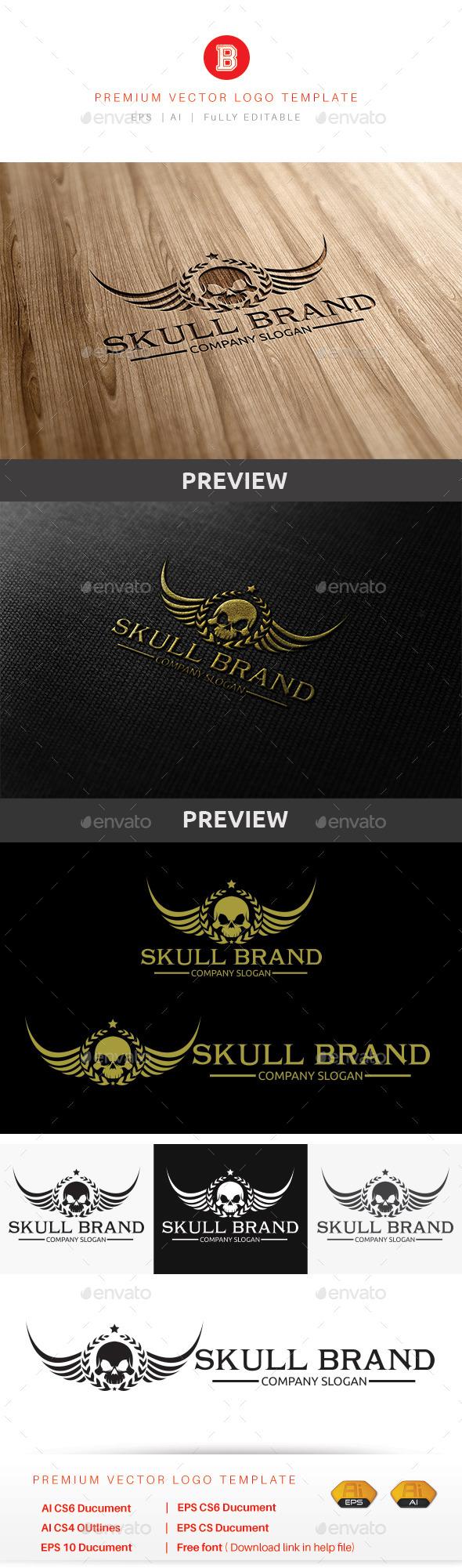Skull Brand - Humans Logo Templates