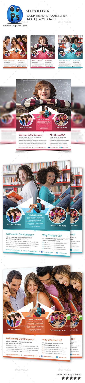 Education Flyer Print Templates - Flyers Print Templates