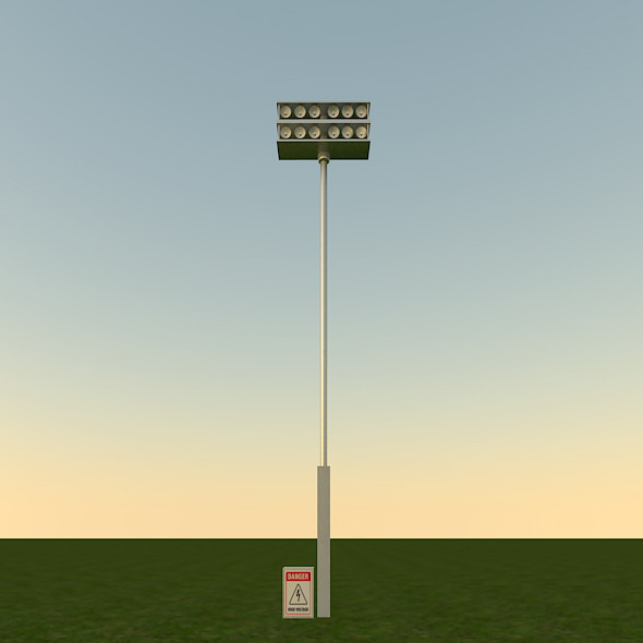 Floodlight - 3DOcean Item for Sale