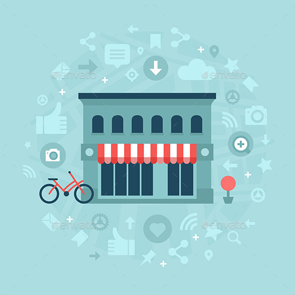Social Media in Local Business - Retail Commercial / Shopping