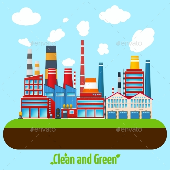 Green Industry Poster - Industries Business