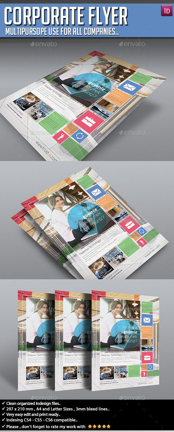Corporate Flyer - Multipurpose V01 - Corporate Flyers