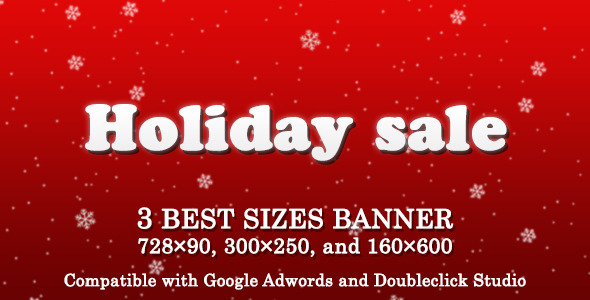 Sale Banner Ad Template - CodeCanyon Item for Sale