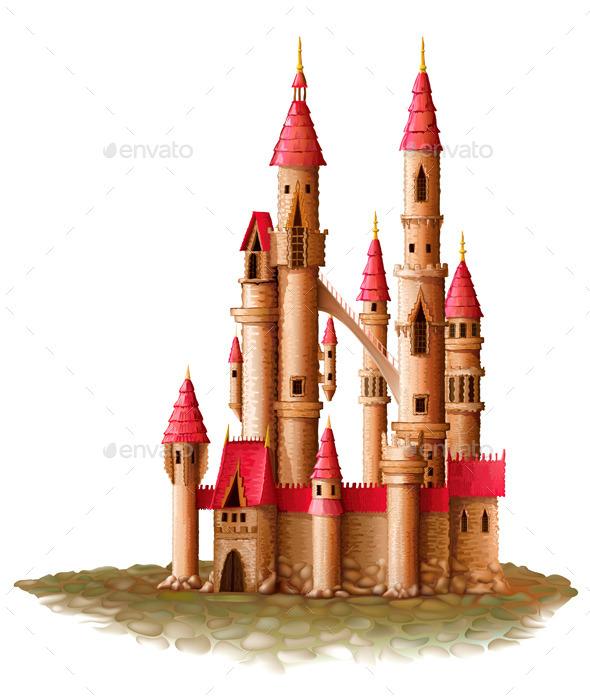 Fantasy Castle - Buildings Objects