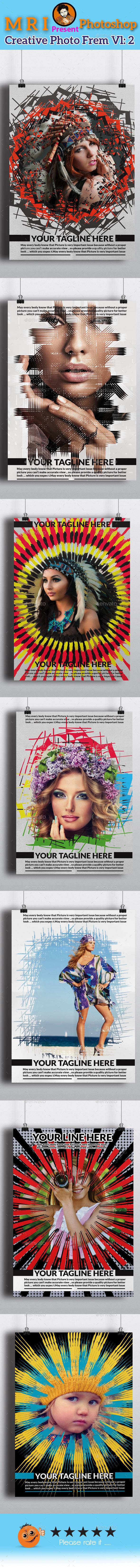 Creative Photo Frame Vl 2 - Photo Templates Graphics