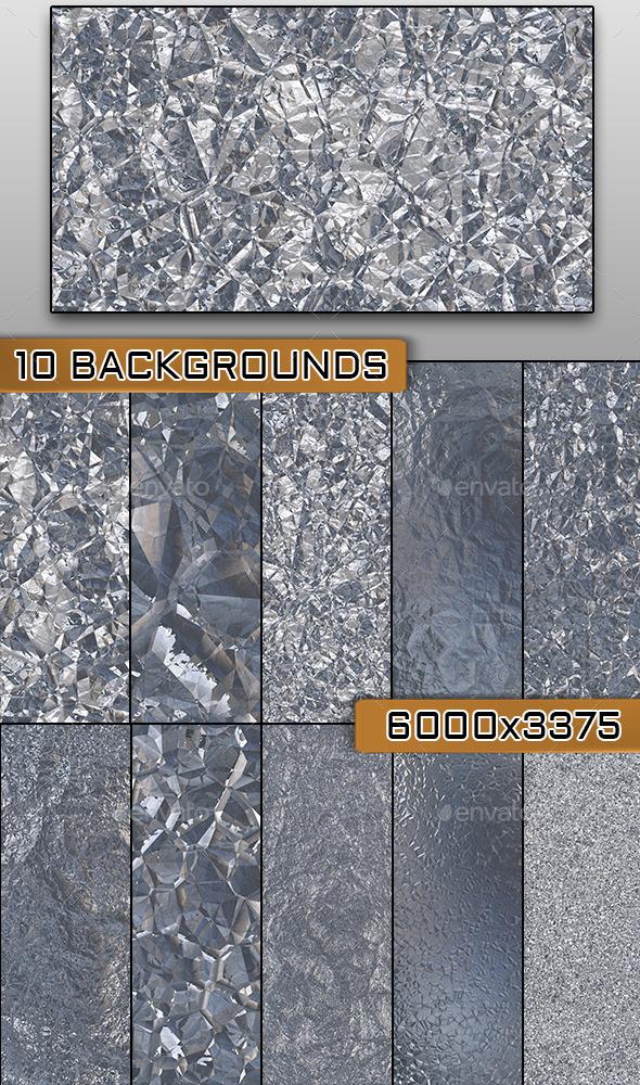 10 Shatter Metal Textures - Metal Textures