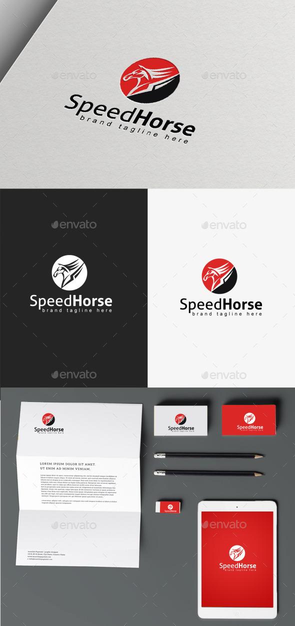 Speed Horse - Animals Logo Templates