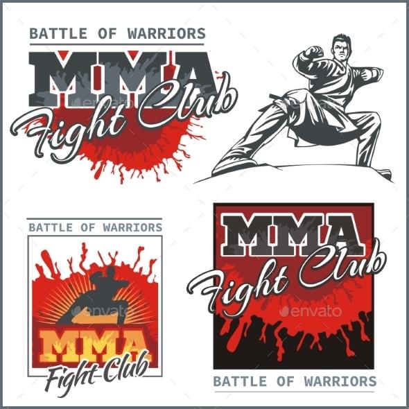 Mixed Martial Arts Designs - Sports/Activity Conceptual