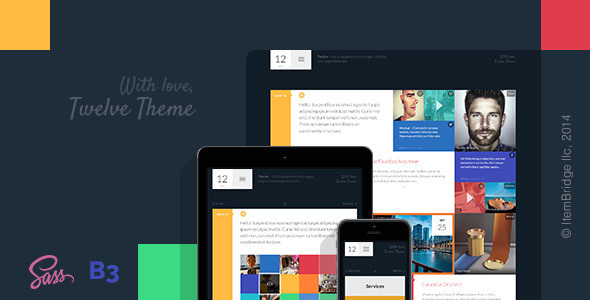 Twelve — Original & Creative Responsive Template