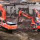 Three Excavators - VideoHive Item for Sale