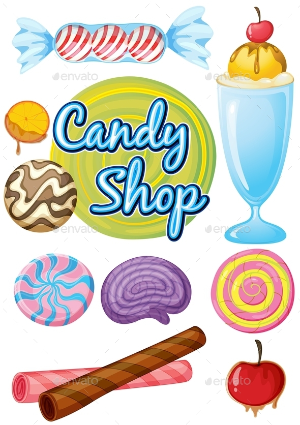 Candy Shop  - Food Objects
