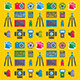 Photographer Pattern - GraphicRiver Item for Sale
