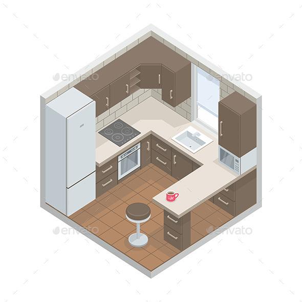 Kitchen - Vectors