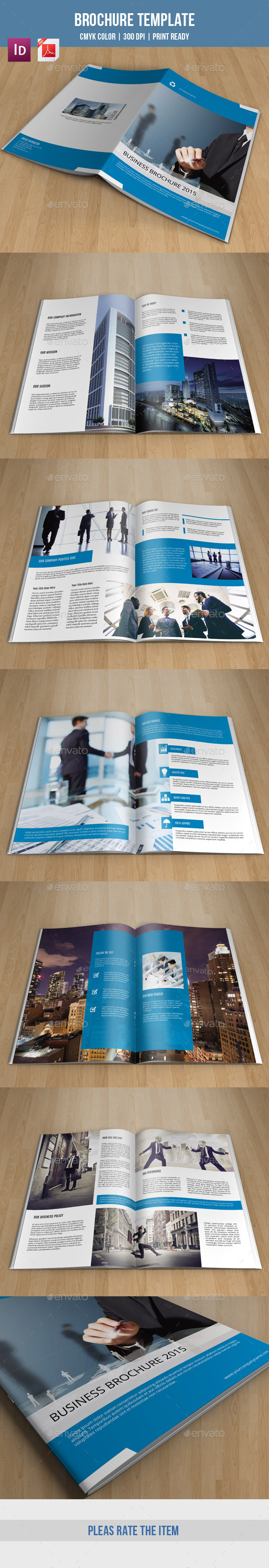 Corporate Bifold Brochure-V179 - Corporate Brochures