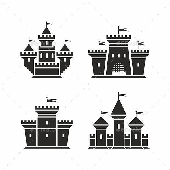 Castle Icons - Vectors