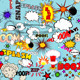 Retro Seamless Pattern with Comic Speech Bubbles - GraphicRiver Item for Sale