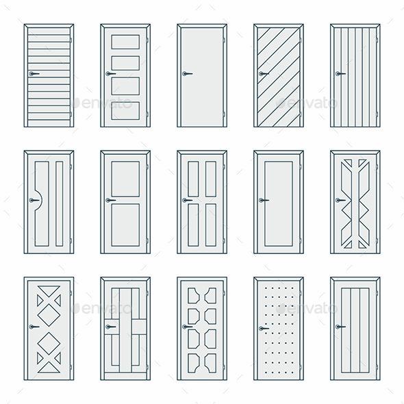 Doors - Vectors