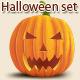 Halloween Set - GraphicRiver Item for Sale