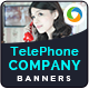 Phone Company Banners - GraphicRiver Item for Sale